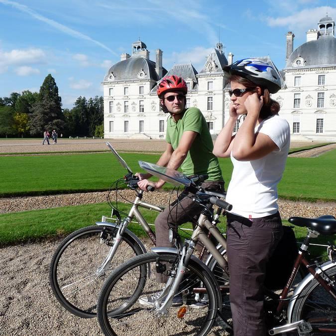 Visiter le château de Cheverny à vélo
