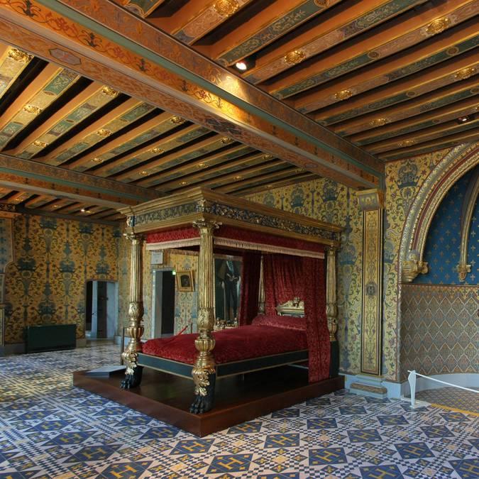 La chambre du roi au château de Blois