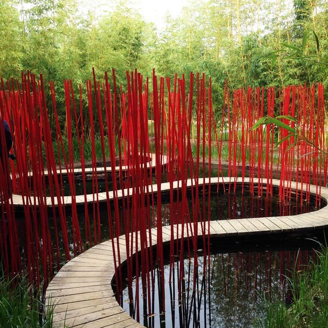 Les jardins exceptionnels de Chaumont-sur-Loire