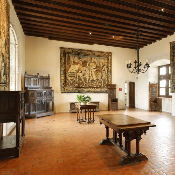 L'intérieur du château d'Amboise