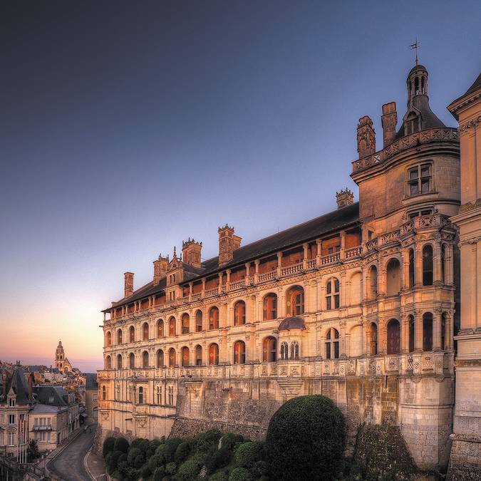 Façade des Loges du Château Royal de Blois