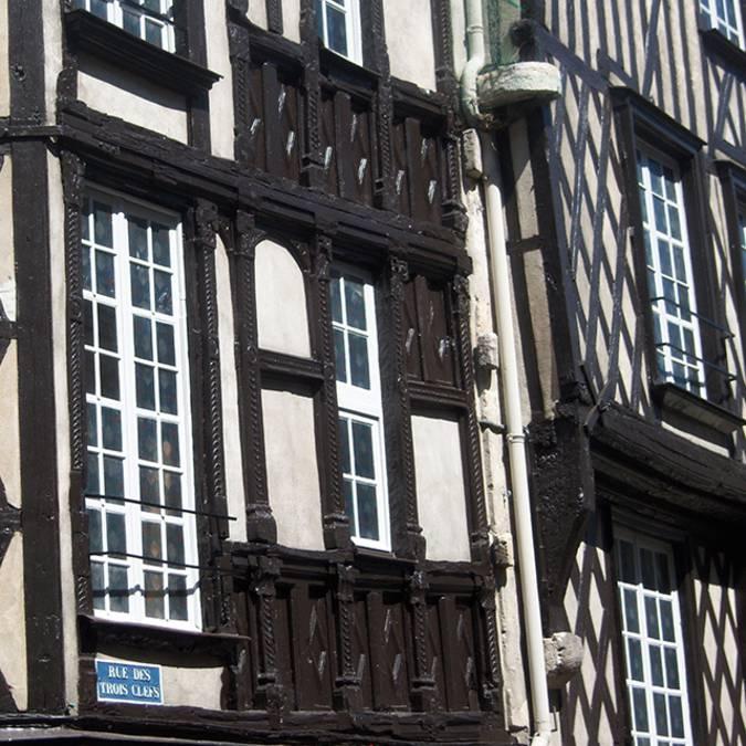 Maisons à Pans de bois, à Blois