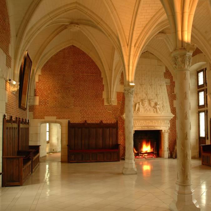 Château d'Amboise, salle du Conseil