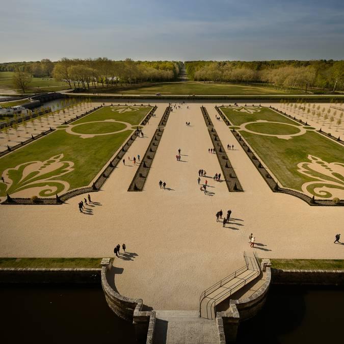 Les jardins de Chambord
