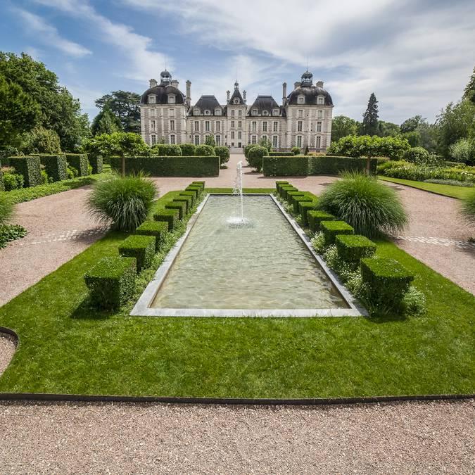 Les jardins à Cheverny. © CJN Thierry