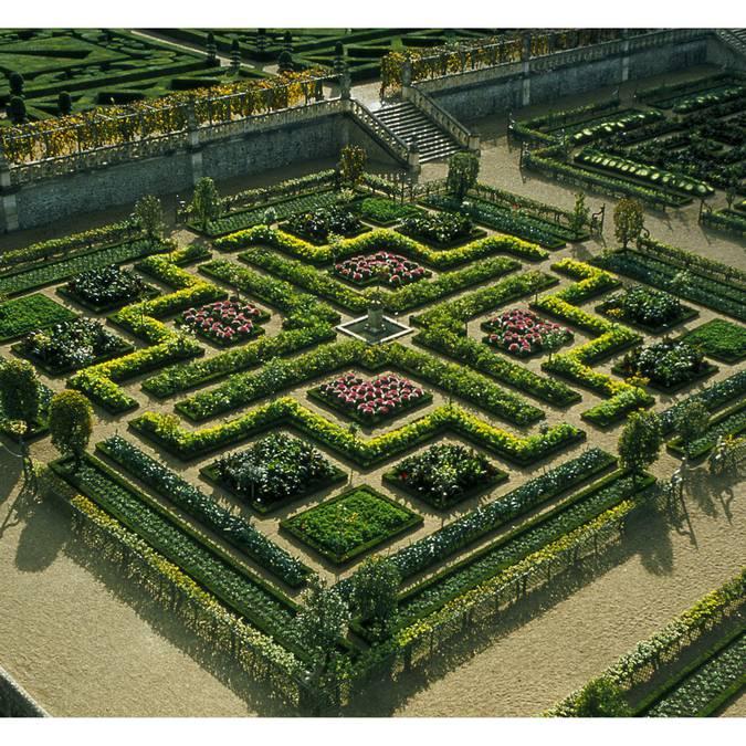 Les jardins de Villandry. © DR