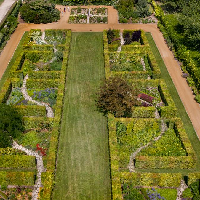 Les jardins à Beauregard. © OTBC