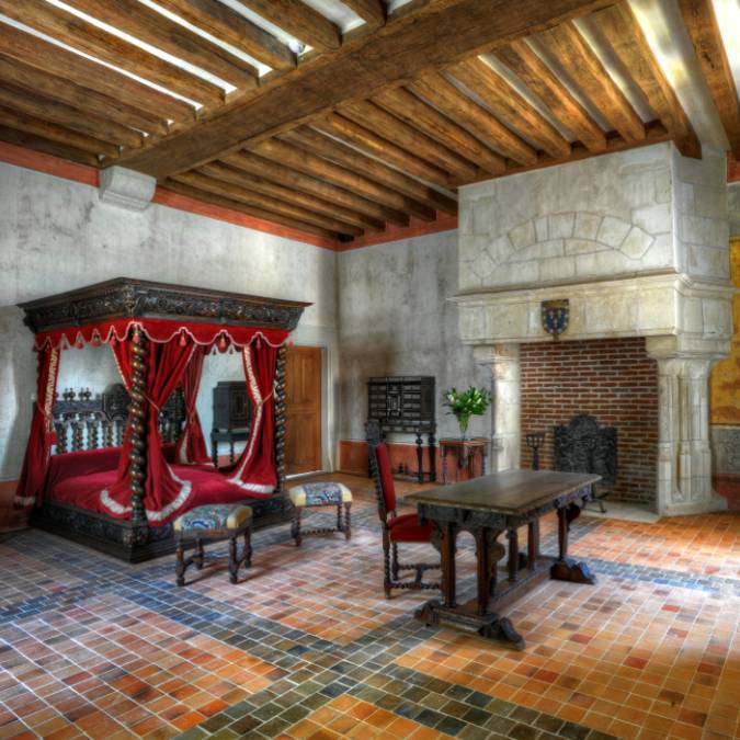 La Chambre de Léonard de Vinci. © OTBC