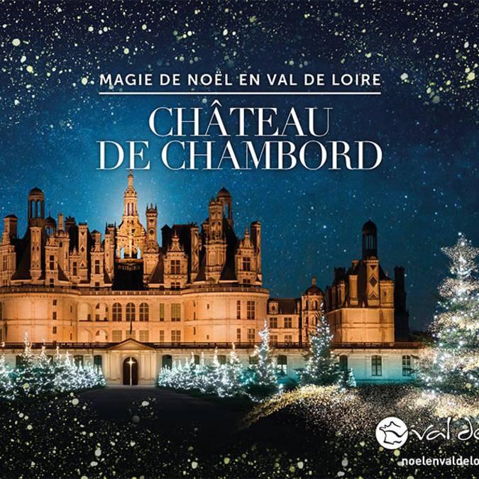 Noël au domaine national de Chambord