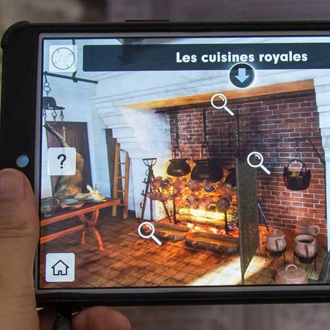 Restitution virtuelle de la rôtisserie du château de Blois